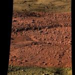 Première image du sol martien